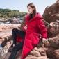 上海库存服装批发市场 冬季棉麻大码女装 品牌折扣女装尾货批发
