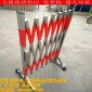 不锈钢伸缩围栏电力施工学校儿童安全护栏可移动式隔离收缩围挡门