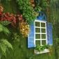 欧式假窗户地中海墙面假窗田园电表箱风格装饰品北欧ins创意家居
