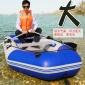 橡皮艇加厚漂流船充快艇硬底冲锋舟钓鱼气垫船气船电动中国耐磨