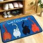 踩脚垫卫浴地毯门垫进门门厅吸水吸尘客厅厕所可手洗现代简约地垫