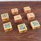 木质手摇音乐盒小玩具 女生礼物天空之城八音盒 儿童益智早教乐器