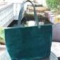 时尚英国大容量高品质剪绒料带磁扣PU拼皮单肩包购物袋环保袋